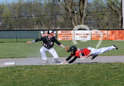 Varsity Baseball: South Webster at West 2016