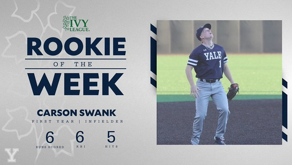 Ivy League Rookie of the Week - March 2, 2020