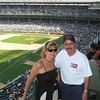 In the summer of 2003, we visited storied Wrigley Field for a Cubs game.