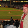 We tried to beat the Arizona heat in July of 2007 when we ventured to San Diego's Petco Park and watched the Diamondbacks win two games against the Padres.