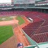 In the fall of 2003 we took a tour of Fenway Park in Boston.