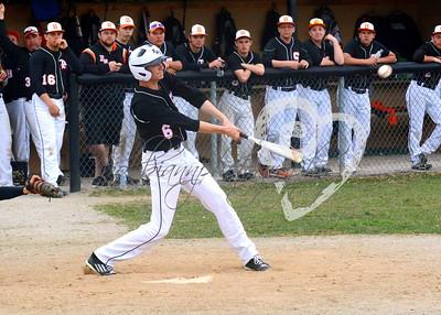 West Portsmouth vs South Webster Varsity Baseball April '15
