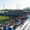 Florida crowd during the Gators' 15-3 win against the Georgia Tech Yellow Jackets Sunday June 3, 2012 at the McKethan Stadium in Gainesville, Fla. / Gator Country photo by Saj Guevara
