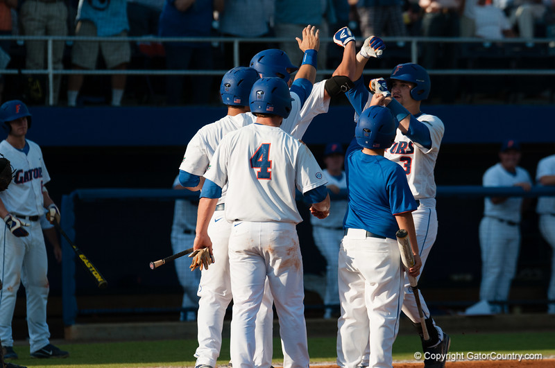 Florida junior Mike Zunino during the Gators' 15-3 win against the Georgia Tech Yellow Jackets Sunday June 3, 2012 at the McKethan Stadium in Gainesville, Fla. / Gator Country photo by Saj Guevara