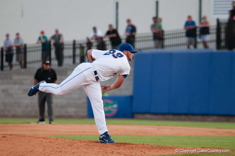 Florida sophomore Karsten Whitson during the Gators' 15-3 win against the Georgia Tech Yellow Jackets Sunday June 3, 2012 at the McKethan Stadium in Gainesville, Fla. / Gator Country photo by Saj Guevara