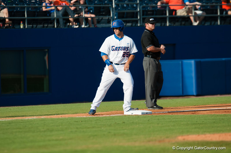 Florida senior Preston Tucker during the Gators' 15-3 win against the Georgia Tech Yellow Jackets Sunday June 3, 2012 at the McKethan Stadium in Gainesville, Fla. / Gator Country photo by Saj Guevara