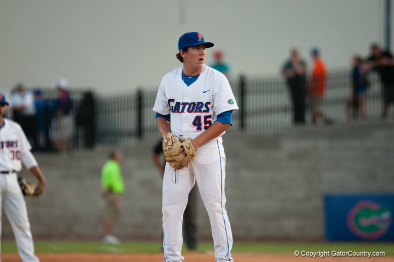 Florida freshman Johnny Magliozzi during the Gators' 15-3 win against the Georgia Tech Yellow Jackets Sunday June 3, 2012 at the McKethan Stadium in Gainesville, Fla. / Gator Country photo by Saj Guevara