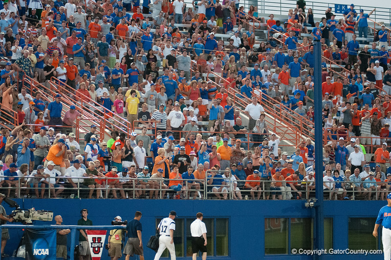 Away Team during the Gators' 6-2 win against the Georgia Tech Yellow Jackets Saturday June 2, 2012 at the McKethan Stadium in Gainesville, Fla. / Gator Country photo by Saj Guevara