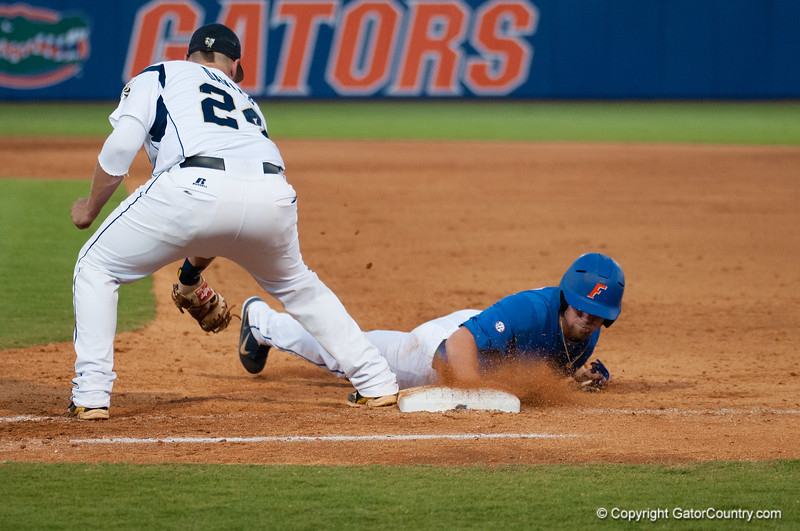 Florida junior Nolan Fontana during the Gators' 6-2 win against the Georgia Tech Yellow Jackets Saturday June 2, 2012 at the McKethan Stadium in Gainesville, Fla. / Gator Country photo by Saj Guevara
