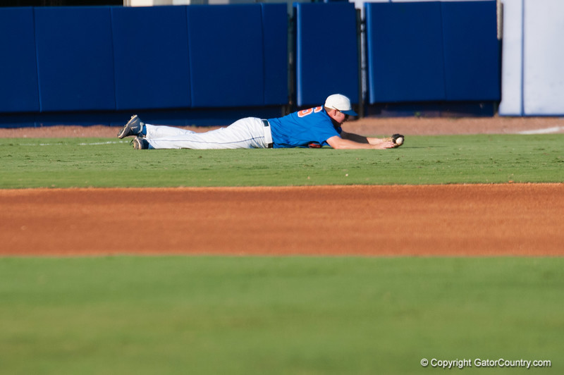 Florida freshman Justin Shafer during the Gators' 6-2 win against the Georgia Tech Yellow Jackets Saturday June 2, 2012 at the McKethan Stadium in Gainesville, Fla. / Gator Country photo by Saj Guevara