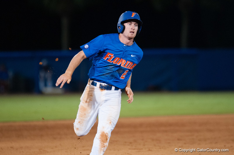 Florida freshman Casey Turgeon during the Gators' 6-2 win against the Georgia Tech Yellow Jackets Saturday June 2, 2012 at the McKethan Stadium in Gainesville, Fla. / Gator Country photo by Saj Guevara