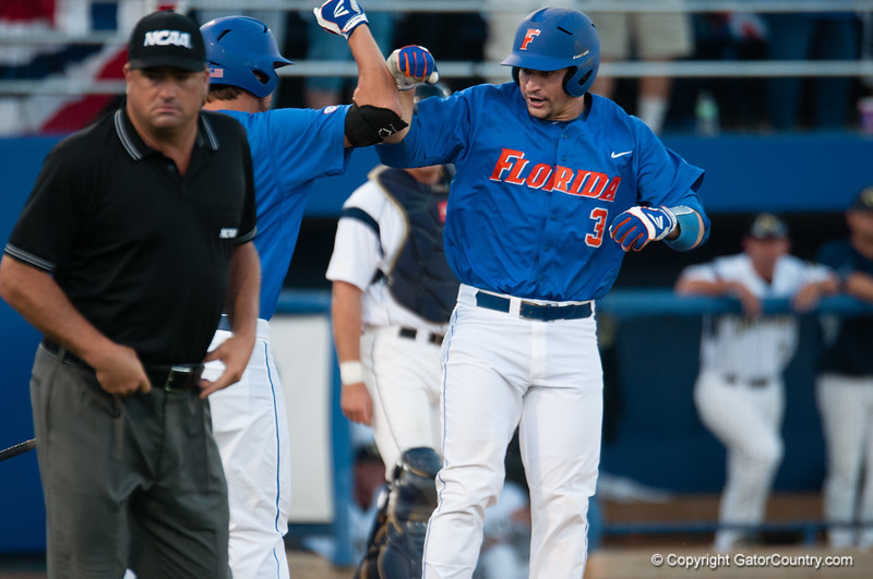 Florida junior Mike Zunino during the Gators' 6-2 win against the Georgia Tech Yellow Jackets Saturday June 2, 2012 at the McKethan Stadium in Gainesville, Fla. / Gator Country photo by Saj Guevara