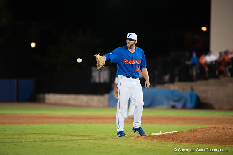 Florida junior Steven Rodriguez during the Gators' 6-2 win against the Georgia Tech Yellow Jackets Saturday June 2, 2012 at the McKethan Stadium in Gainesville, Fla. / Gator Country photo by Saj Guevara
