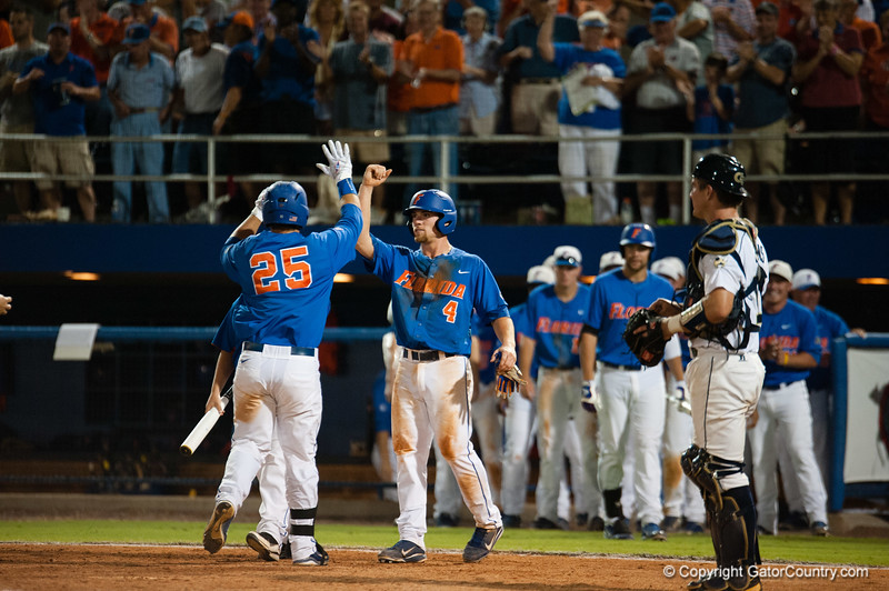 Florida Senior Preston Tucker during the Gators' 6-2 win against the Georgia Tech Yellow Jackets Saturday June 2, 2012 at the McKethan Stadium in Gainesville, Fla. / Gator Country photo by Saj Guevara