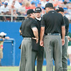 Umpires during the Gators' 6-2 win against the Georgia Tech Yellow Jackets Saturday June 2, 2012 at the McKethan Stadium in Gainesville, Fla. / Gator Country photo by Saj Guevara