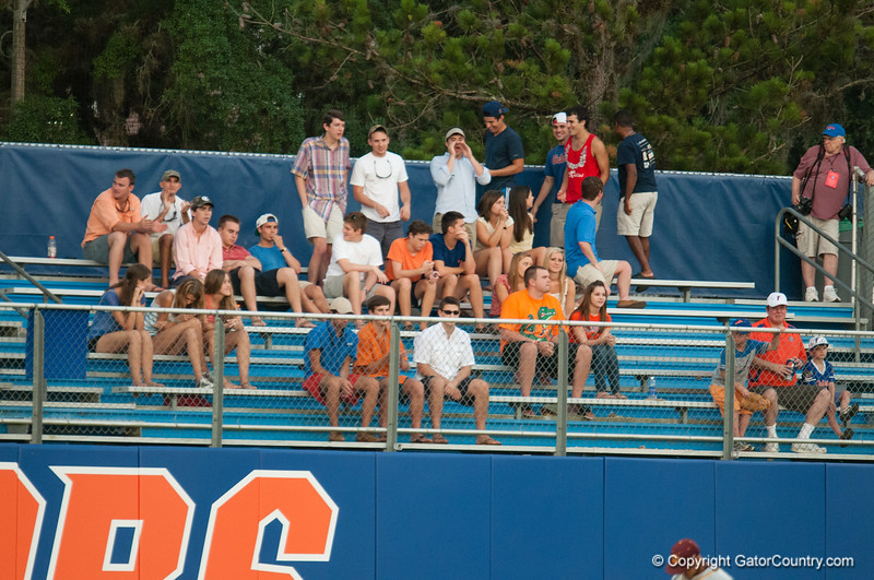 Florida crowd during the Gators' 4-0 win against the Bethune-Cookman Wildcats Friday June 1, 2012 at the McKethan Stadium in Gainesville, Fla. / Gator Country photo by Saj Guevara