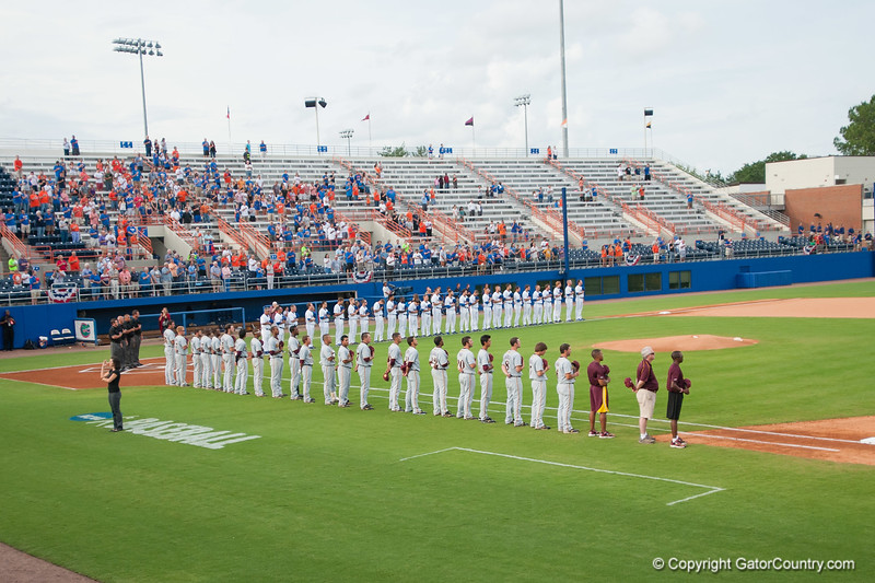 Florida baseball Team during the Gators' 4-0 win against the Bethune-Cookman Wildcats Friday June 1, 2012 at the McKethan Stadium in Gainesville, Fla. / Gator Country photo by Saj Guevara