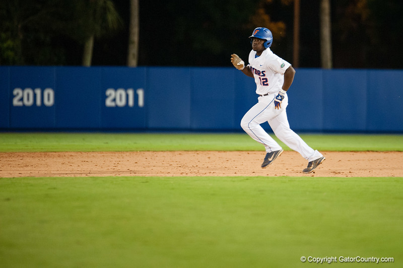 Florida freshman Josh Tobias during the Gators' 4-0 win against the Bethune-Cookman Wildcats Friday June 1, 2012 at the McKethan Stadium in Gainesville, Fla. / Gator Country photo by Saj Guevara