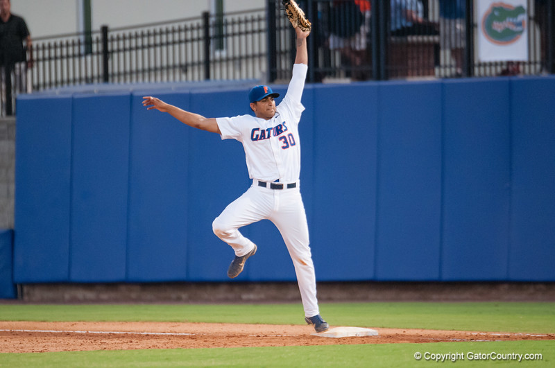 Florida junior Vickash Ramjit during the Gators' 4-0 win against the Bethune-Cookman Wildcats Friday June 1, 2012 at the McKethan Stadium in Gainesville, Fla. / Gator Country photo by Saj Guevara