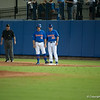Florida senior Jeff Moyer during the Gators' 1-5 loss against the Arkansas Razorbacks Saturday April 28, 2012 at the McKethan Stadium in Gainesville, Fla. / Gator Country photo by Saj Guevara