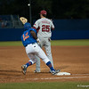 Florida freshman Josh Tobias during the Gators' 1-5 loss against the Arkansas Razorbacks Saturday April 28, 2012 at the McKethan Stadium in Gainesville, Fla. / Gator Country photo by Saj Guevara