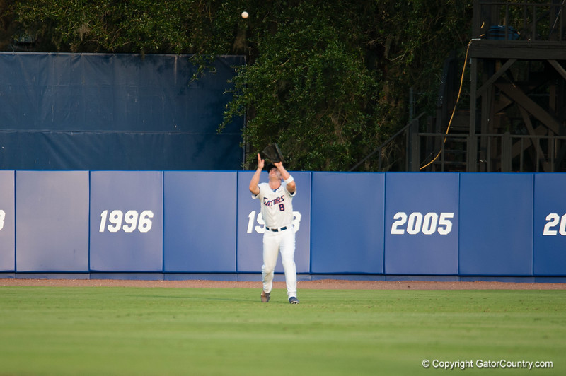 Florida senior Daniel Pigott during the Gators' 4-1 win against the Mississippi State Bullgods Friday May 11, 2012 at the McKethan Stadium in Gainesville, Fla. / Gator Country photo by Saj Guevara