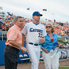 Florida senior Greg Larson during the Gators' 4-1 win against the Mississippi State Bullgods Friday May 11, 2012 at the McKethan Stadium in Gainesville, Fla. / Gator Country photo by Saj Guevara
