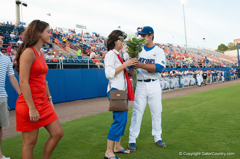 Florida senior Preston Tucker during the Gators' 4-1 win against the Mississippi State Bullgods Friday May 11, 2012 at the McKethan Stadium in Gainesville, Fla. / Gator Country photo by Saj Guevara