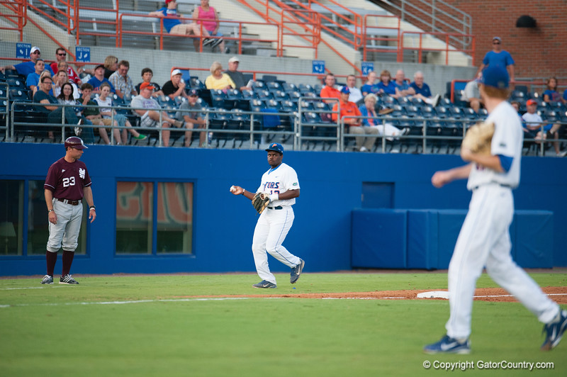 Florida freshman Josh Tobias during the Gators' 4-1 win against the Mississippi State Bullgods Friday May 11, 2012 at the McKethan Stadium in Gainesville, Fla. / Gator Country photo by Saj Guevara
