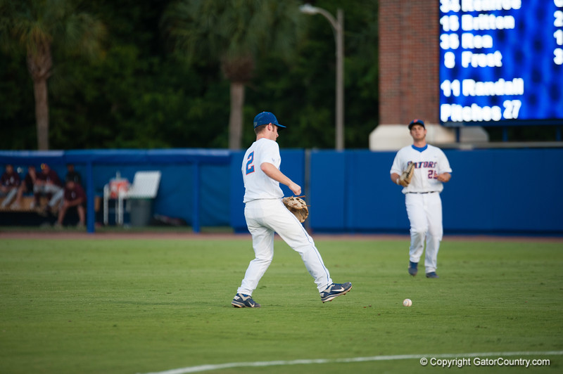 Florida freshman Casey Turgeon during the Gators' 4-1 win against the Mississippi State Bullgods Friday May 11, 2012 at the McKethan Stadium in Gainesville, Fla. / Gator Country photo by Saj Guevara
