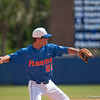 Florida junior Cody Dent catches and throws to 1st base during the Gators' 8-2 win against the Vanderbilt Commodores Sunday, March 18, 2012 at the McKethan Stadium in Gainesville, Fla. / Gator Country photo by Saj Guevara