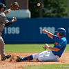 Florida junior Nolan Fontana tries to steal 2nd base during the Gators' 8-2 win against the Vanderbilt Commodores Sunday, March 18, 2012 at the McKethan Stadium in Gainesville, Fla. / Gator Country photo by Saj Guevara