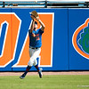 Florida freshman Justin Shafer catches a fly ball during the Gators' 8-2 win against the Vanderbilt Commodores Sunday, March 18, 2012 at the McKethan Stadium in Gainesville, Fla. / Gator Country photo by Saj Guevara