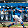 Florida junior Nolan Fontana at bat during the Gators' 8-2 win against the Vanderbilt Commodores Sunday, March 18, 2012 at the McKethan Stadium in Gainesville, Fla. / Gator Country photo by Saj Guevara