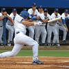 Florida freshman Casey Turgeon takes a swing during the Gators' game against North Carolina State in Game 1 of the Gainesville Super Regional in McKethan Stadium on June 9, 2012.