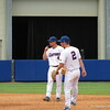 Florida middle infielders Nolan Fontana, left, and Casey Turgeon during the Gators' game against North Carolina State in Game 1 of the Gainesville Super Regional in McKethan Stadium on June 9, 2012.