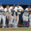 Florida's dugout during the Gators' game against North Carolina State in Game 1 of the Gainesville Super Regional in McKethan Stadium on June 9, 2012.