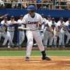 Florida's Mike Zunino during the Gators' game against North Carolina State in Game 1 of the Gainesville Super Regional in McKethan Stadium on June 9, 2012.