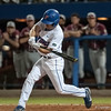 Florida freshman Casey Turgeon swings during the Gators' 9-2 win against the FSU Seminoles on Tuesday, March 13, 2012 at the McKethan Stadium in Gainesville, Fla. / Gator Country photo by Saj Guevara