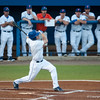 Florida senior Daniel Pigott swings during the Gators' 9-2 win against the FSU Seminoles on Tuesday, March 13, 2012 at the McKethan Stadium in Gainesville, Fla. / Gator Country photo by Saj Guevara