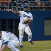 Florida freshman Josh Tobias throws to 1st base during the Gators' 9-2 win against the FSU Seminoles on Tuesday, March 13, 2012 at the McKethan Stadium in Gainesville, Fla. / Gator Country photo by Saj Guevara
