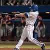 Florida junior Nolan Fontana hits a home run during the Gators' 9-2 win against the FSU Seminoles on Tuesday, March 13, 2012 at the McKethan Stadium in Gainesville, Fla. / Gator Country photo by Saj Guevara