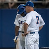 Florida head coach Kevin O'Sullivan giving instructions during the Gators' 9-2 win against the FSU Seminoles on Tuesday, March 13, 2012 at the McKethan Stadium in Gainesville, Fla. / Gator Country photo by Saj Guevara