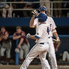 Florida junior Nolan Fontana high fives after his home run during the Gators' 9-2 win against the FSU Seminoles on Tuesday, March 13, 2012 at the McKethan Stadium in Gainesville, Fla. / Gator Country photo by Saj Guevara