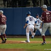Florida senior Preston Tucker runs to 1st base during the Gators' 9-2 win against the FSU Seminoles on Tuesday, March 13, 2012 at the McKethan Stadium in Gainesville, Fla. / Gator Country photo by Saj Guevara