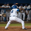 Florida senior Tyler Thompson swings during the Gators' 9-2 win against the FSU Seminoles on Tuesday, March 13, 2012 at the McKethan Stadium in Gainesville, Fla. / Gator Country photo by Saj Guevara