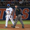 Florida freshman Josh Tobias at 2nd base during the Gators' 9-2 win against the FSU Seminoles on Tuesday, March 13, 2012 at the McKethan Stadium in Gainesville, Fla. / Gator Country photo by Saj Guevara