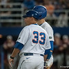 Florida assistant coach Craig Bell during the Gators' 9-2 win against the FSU Seminoles on Tuesday, March 13, 2012 at the McKethan Stadium in Gainesville, Fla. / Gator Country photo by Saj Guevara