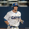 Florida junior Nolan Fontana on a home run during the Gators' 9-2 win against the FSU Seminoles on Tuesday, March 13, 2012 at the McKethan Stadium in Gainesville, Fla. / Gator Country photo by Saj Guevara