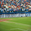 Florida baseball team before the Gators' 9-2 win against the FSU Seminoles on Tuesday, March 13, 2012 at the McKethan Stadium in Gainesville, Fla. / Gator Country photo by Saj Guevara
